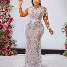 France Plus Size Sexy Wedding Dresses Casamento Illusion Sleeve Bridal Dress Long Applique Robe De Mairee