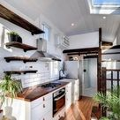 17 Beautiful Tiny House Ideas to Maximise Function & Style [CLICK ... VISIT WEBSITE TO READ]