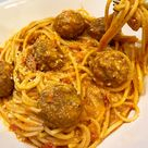 Instant Pot Best Spaghetti & Meatballs - Pressure Luck Cooking