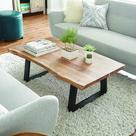 Detailed Acacia Wood Table