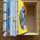 Kinderzeichnungen zu Büchern binden - Buntraum Coaching und Familie