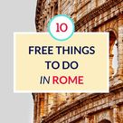 10 Free Things to Do in Rome, Italy - Grumpy Camel