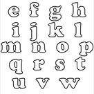 30+ Alphabet Bubble Letters - Free Alphabet Templates