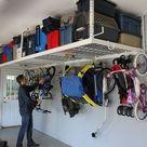 SafeRacks Overhead Garage Storage Bike Rack Heavy Duty 18
