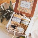 Spa Gift Box, Natural Skincare Set, Birthday Gift for Women, Face Oil Serum, Self Care Gift Box, Natural Skincare Set, Self Care Box,