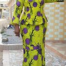 2020 Top 25 Native Skirt And Blouse Ankara Styles For The Ladies   Correct Kid