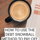 HOW TO USE THE DEBT SNOWBALL METHOD TO PAY OFF DEBT QUICKLY⭐️