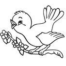 Leuk voor kids | zingend vogeltje