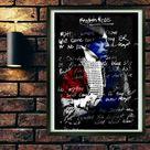 Paul Weller Digital Music Print