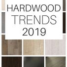 2019 hardwood flooring trends. See what's popular and stylish in terms of stain colors, finishes and textures.#2019 #hardwood #flooring #trends #homedecor #hardwoodflooring #floors #homedecortrends