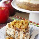 Apple Cinnamon Cheesecake   The Best Apple Cake Recipe