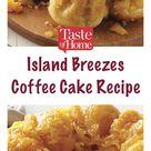 Island Breezes Coffee Cake