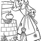 Coloring Page - Cinderella coloring pages 10