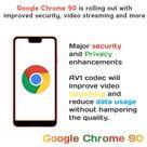 Google Chrome 90 Update