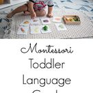 Language Cards for Toddlers