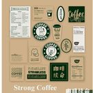 30sheets,4types,beautiful daily series sticker pack,retro style,crafting project ,journaling ,paper
