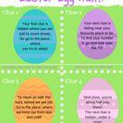 Easter Egg Hunt Printable Worksheets