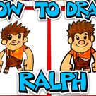 How To Draw Wreck-It Ralph - Art For Kids Hub -
