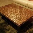 Copper Coffee Table