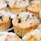Fluffige und super leckere Vanillemuffins mit Schokostückchen