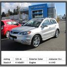 2008 Acura RDX Base w/Tech SUV  Permanent Locking Hubs, Fuel Consumption: City: 17 Mpg, Regular Front Stabilizer Bar, Fuel Type: Premium Unleaded, Metal-Look Dash Trim, Passenger And Rear, Rear Shoulder Room: 56.3, Heated Passenger Mirror, Seatbelt Pretensioners: Front, Cruise Control, Intercooled Turbo, Rear Area Cargo Cover: Rigid, Privacy Glass: Deep, Speed-Proportional Power Steering, Power Remote Driver Mirror Adjustment, Video Monitor Location: Front