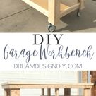 How to Build the Ultimate DIY Garage Workbench - FREE Plans