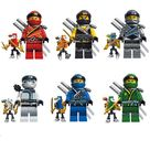 DECOOL 10071~10076 Minifigures 6 Sets in 1 | BRICK LEPIN
