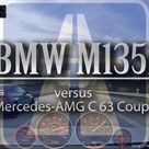 Mighty M4 Rival 2016 AMG C 63 Coupé vs BMW M135i +100 255 Autobahn Waylens Drive Analyser RaceRender