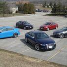 2013 Sports Sedan Comparison BMW 335 vs Audi S4 vs Mercedes C350 vs Cadillac ATS vs Volvo S60 » AutoGuide.com News