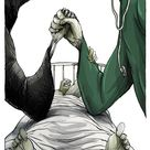Healthcare Workers' Brave Battle