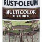 Rust Oleum Stops Rust Satin Caribbean Sand Textured Spray Paint NET WT. 12 oz in Off White   239121
