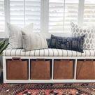 Brilliant Ikea Hacks for Kallax Shelf - Hello Lovely