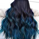 19 Most Amazing Blue Black Hair Color Looks of 2021