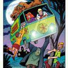 Scooby Doo & Frankenstein (digital colors) Comic Art
