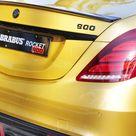 BRABUS Rocket 900 Desert Gold is New Bugatti Fast Dubai Limo