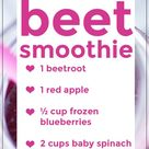 Liver Detox Smoothie with Beets - July Blossom