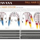 Fall hair color placement