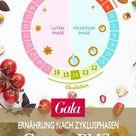 Ernährung in den verschiedenen Zyklusphasen