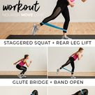 8 BEST Resistance Band Exercises for Legs (Video)   Nourish Move Love