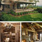 12 Real Log Cabin Homes - Take A Virtual Tour