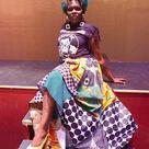 African Print Ankara High Waisted Maxi Infinity Dress. Please | Etsy
