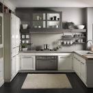 White Grey Kitchens