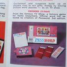 Password 1963 Milton Bradley Company Game- Game Night-Vintage Game-Family Game Night