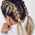 10 Easy Hairstyles When You're In A Rush   Society19