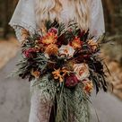 10 Stunning Autumn Wedding Bouquets You'll Adore   weddingsonline