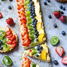 Classic Fruit Tart with Custard