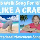 Crab Walk Song for Kids | Like A Crab | Miss Nina Music