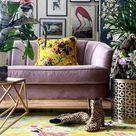 Birdsong Yellow Rug | Bird Hand Tufted Rug | Wendy Morrison Design