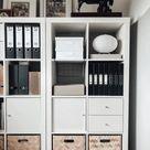 KALLAX white, Insert with door, 33x33 cm   IKEA