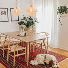 Farmhouse chandelier, boho lighting, macrame light, macrame lamp shade,